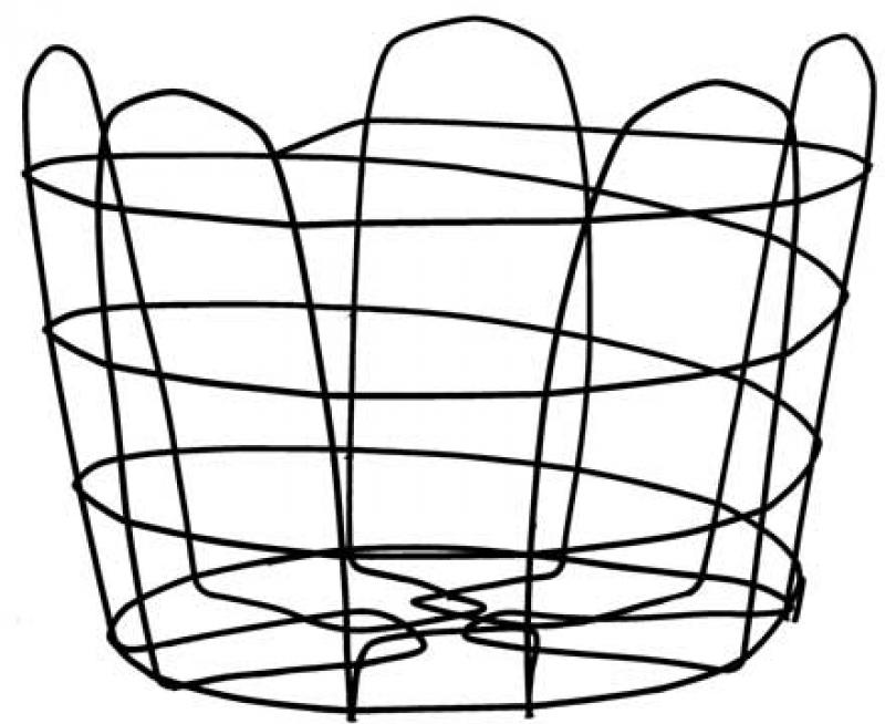 CLEGG 9°   Braun Wire Baskets