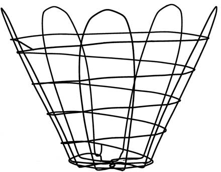 Welded basket illustration