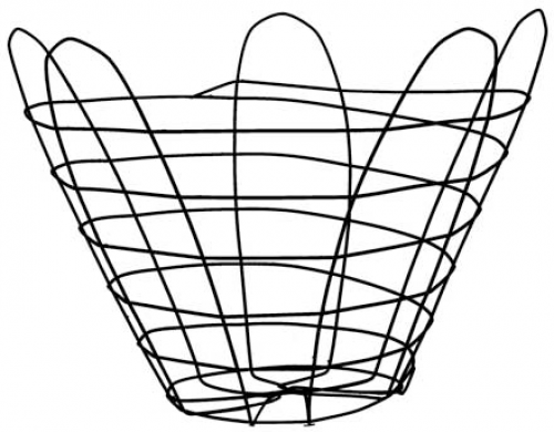 wire baskets for tree nursuries